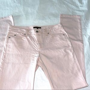 Theory Light Pink Skinny Jeans $197